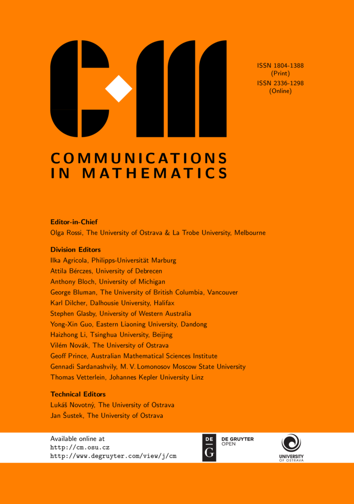 CM cover page